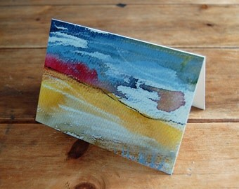 Moorland Grass greeting card