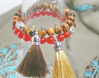 Tassel  bracelet with Buddha bead