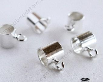 5 pcs 925 Sterling Silver Charm Holder for European Style Bracelet F288