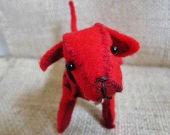 Red Rover Felt Pup
