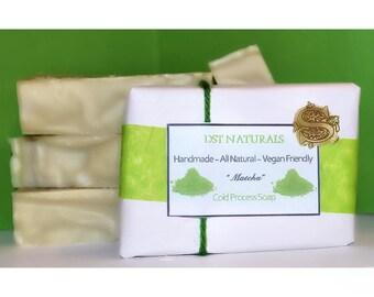 Matcha Green Tea Cold Process Soap