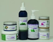 Natural Hair Care Ritual Set.  Pre Order. Seasonal Limited Edition 7 pc Set. Free Shipping.