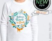 lettuce turnip the beet ® - trademark brand OFFICIAL SITE - white long sleeve cotton shirt - toddler & kid sizes