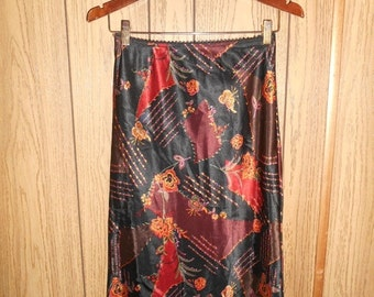 SALE Vintage skirt floral  grunge  90s       womens women ladies    clothing clothes