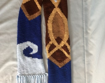Pokemon Honedge-inspired scarf