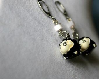Betty BlackSheep Earrings