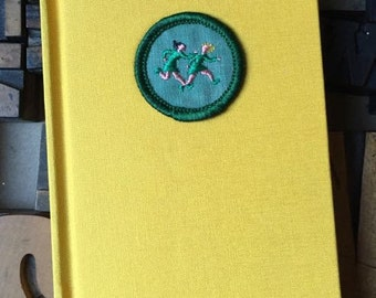 Girl Scout Badge Journal Games Badge -  Lined