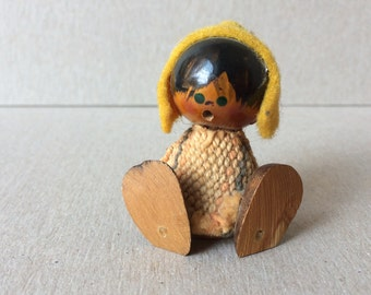 Mid Century Traditional Child - Scandinavian Wooden Child