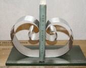 """Art  Deco book  paper holder   dentist office  medical desk    """"Smiley dental laboratory"""""""