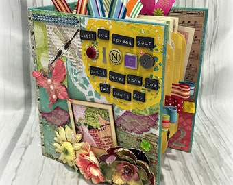 FLY  All Occasion Scrapbook Scrapbooking Chipboard Album