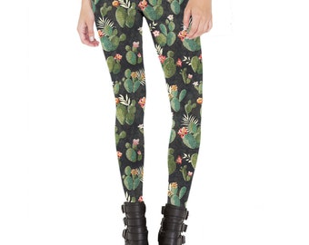Cactus Leggings Made in USA