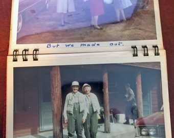 Vintage Photo Album of McCloud River Fishing Trip 1969 California