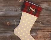 Custom Order for Jessica -Christmas Stockings
