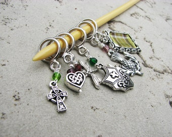 Outlander Inspired Non-Snag Stitch Markers