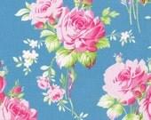 Tanya Whelan, Sadie's Dance Card collection, Rose Bouquet in Blue, yard