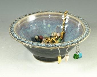 Jewelry bowl & earring holders