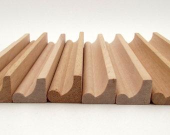 Vintage Scrabble Tile Racks - Lot of 8 - Wooden Scrabble Racks - Holders - Easels - Tile Trays - Display - Organization