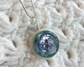 Violet Ice - Necklace