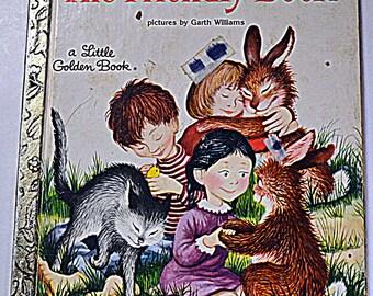 Vintage Children's Book The Friendly Book Margaret Wise Brown  Little Golden Book