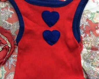 Heart Tank 6/9 Months