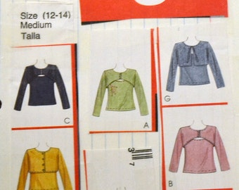 Sewing Pattern McCall's 2886 Misses' Twin Set size 12-14, Bust 34-36 inches UNCUT Complete