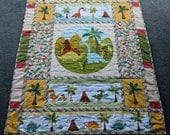 Dinosaurs Galore Baby or Toddler Quilt