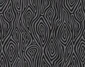Burly Beavers Fabric, Hipster fabric, Woodgrain fabric, Black fabric, Nature fabric, Robert Kaufman- Choose the cut. Free Shipping Available