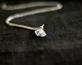 RESERVED FOR MAZEN Herkimer Diamond necklace Herkimer choker April birthstone quartz herkimer jewelry
