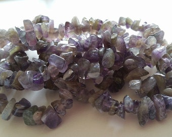 Amethyst Chip 35 Inches - FULL STRAND