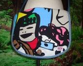 Messenger Bag Corduroy Hippie Tote Crossbody Patchwork Vintage Sling Purse Japan Denim Graphic Japanese Hippy Retro designer elyse oRiGiNaLs