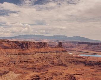 Canyonlands Moab Utah Photography, Large Landscape Print, Southwest Nature Photography, Southwest Decor, Utah Landscape,