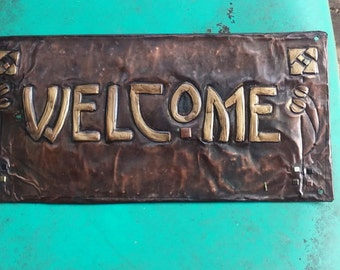 Craftsman Glasgow Rose Welcome