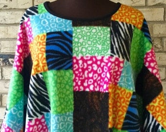Plus Size Fleece Caftan