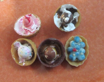 ice cream bowls doll house size