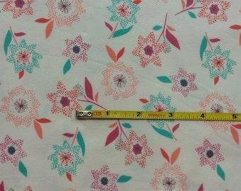 NEW Art Gallery Sparkler Celebrate on cotton Lycra  knit fabric 1 yard