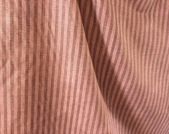 "Waverly plum stripe fabric ""wall street"" 3 yards x 56"