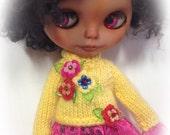 Candy Colours    ..Oversized jumper , Blythe,Pullip,MonsterH,sleepingelf bjds