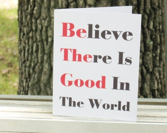 Be The Good Note Cards - Inspirational Note Cards - Religious Stationery - Encouragement Cards