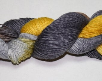 Bee Keeper Hand Dyed Sock Yarn