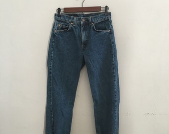 Vintage levis 505s straight leg jeans vintage denim made in the usa xxsmall xsmall 28 waist