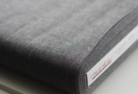 Black Moda Cross weave by Moda Fabric 12119 53 yard fat quarter half Crossweave