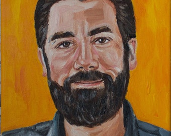 "CUSTOM PORTRAIT PAINTING - 8x10"" Canvas"