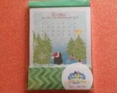 Refill Mini Desktop Calendar 2016 - Cards Only - Penguin & Peep!