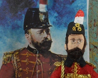 John Philip Sousa Doll Miniature Collectible Music Composer