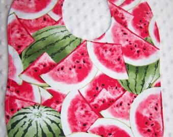 FREE SHIPPING Watermelon Large Toddler Baby Bib