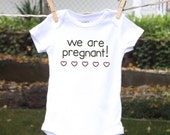 Pregnancy Announcement to Husband Pregnancy Reveal to Grandparents Baby Reveal Pregnancy Announcement Photo Prop Baby Clothes Online