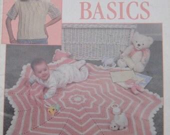 New Crochet Basics Leisure Arts Book