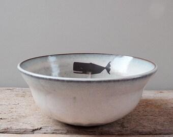 Large Sperm Whale Bowl