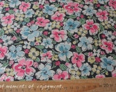 4276 - Cath Kidston Orchard Blossom Cotton Canvas Fabric - 57 Inch (Width) x 1/2 Yard (Length)
