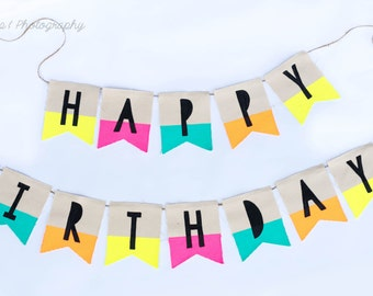 Glow-In-The-Dark Party Banner-Perfect For Your Glow Party!